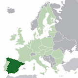 spain map small